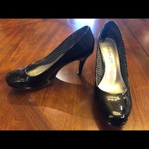8.5 Madden Girl Getta Black Patent